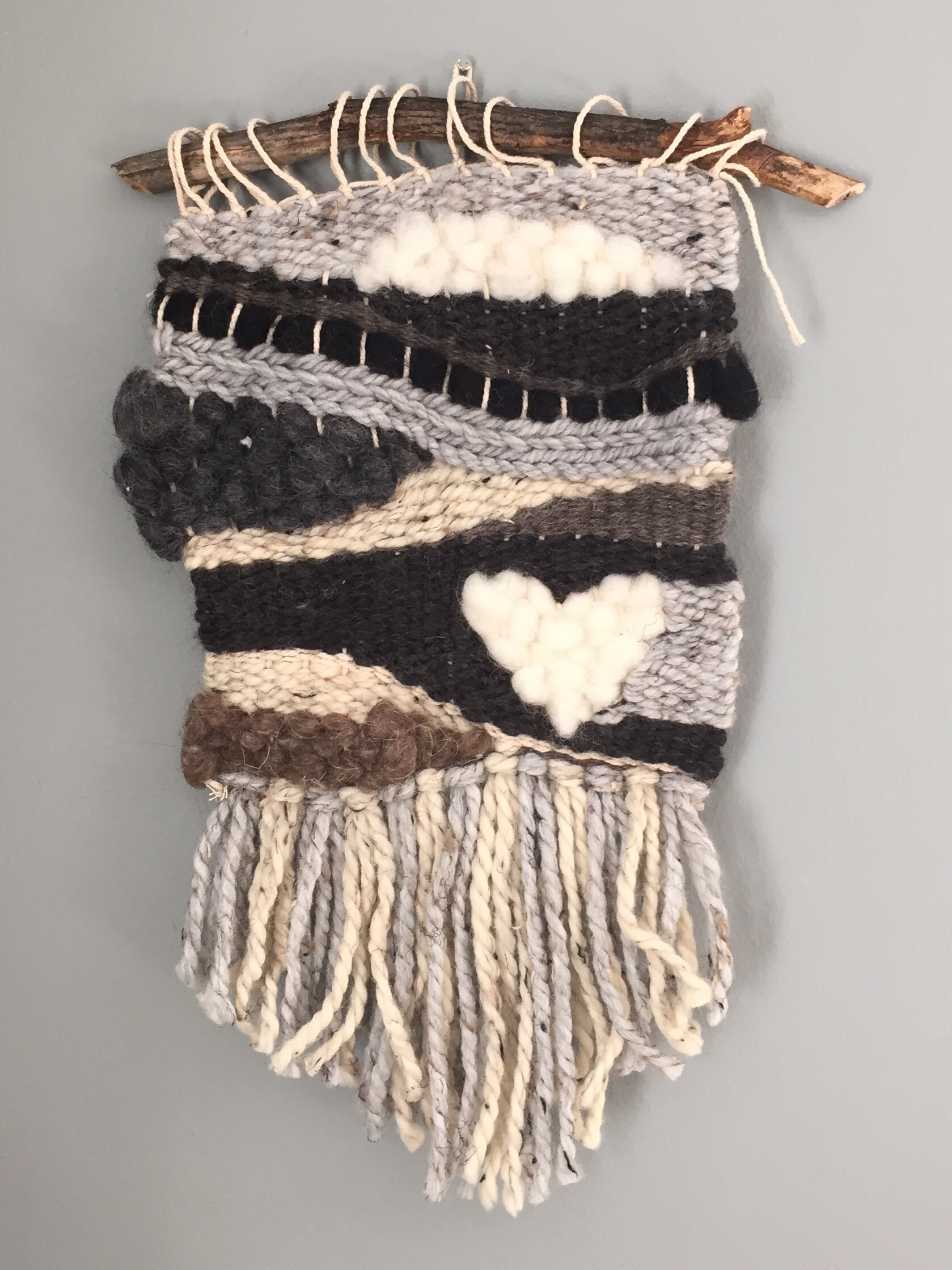 Project Diy Woven Wall Hanging Veronimama