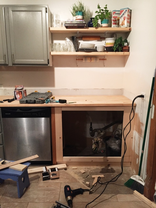 Kitchen Renovation DIY
