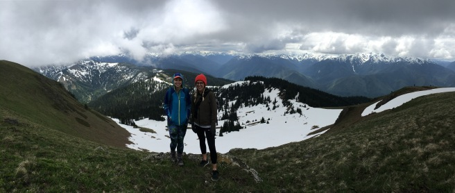 Hiking Hurricane Ridge